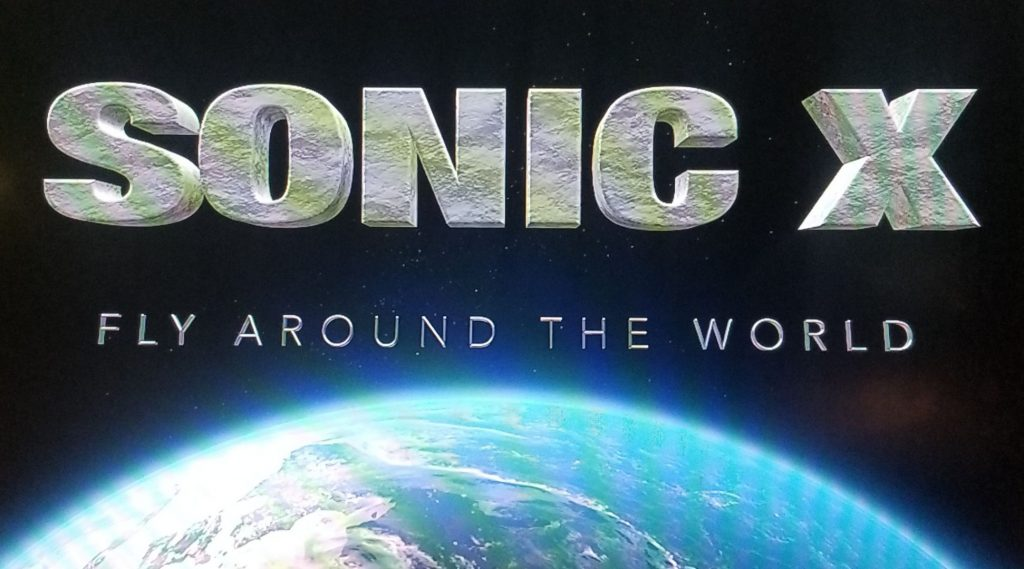 Fly Around The World Cover Sonic X 1