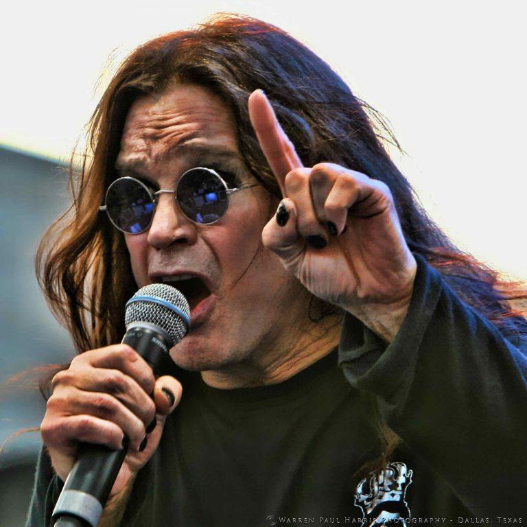 Ozzy Osbourne at Ozzfest 2008